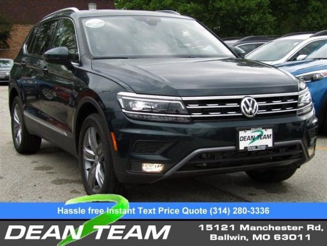New 2019 Dark Moss Green Metallic Volkswagen Tiguan For Sale | St