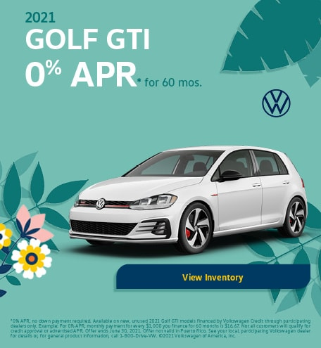 May 2021 Golf GTI Offer