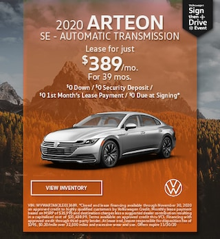 November 2020 ARTEON SE - AUTOMATIC TRANSMISSION Offer