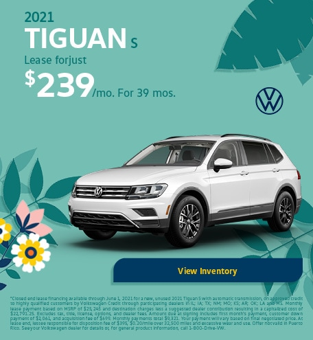 May 2021 Tiguan S Offer