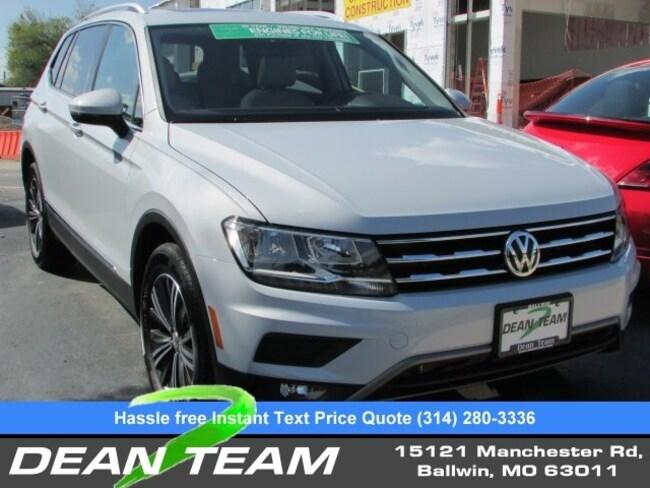 2019 Volkswagen Tiguan SEL 2.0T SEL 4MOTION