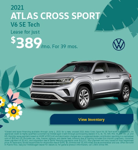 May 2021 Atlas Cross Sport V6 SE Tech Offer