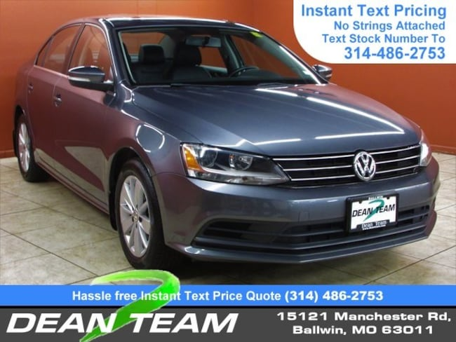2015 Volkswagen Jetta Sedan 2.0L TDI SE w/Connectivity DSG 2.0L TDI SE w/Connectivity