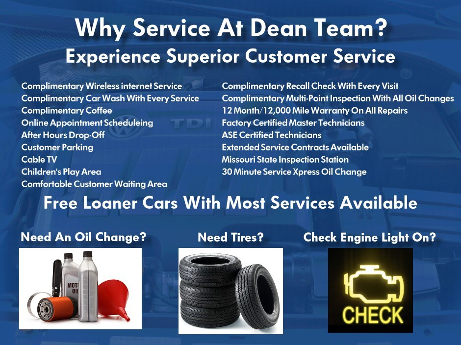 Volkswagen Service Center | Dean Team VW of Kirkwood