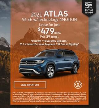 November 2021 ATLAS V6 SE w/Technology 4MOTION Offer