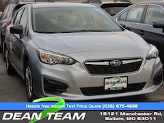 2019 Subaru Impreza 2.0i 5-door near St Louis at Dean Team Subaru
