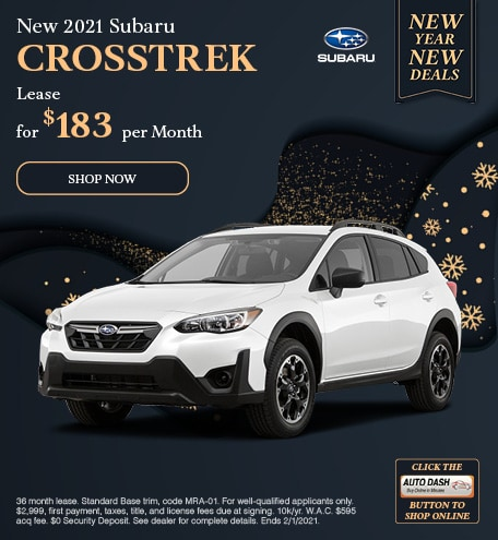 January New 2021 Subaru Crosstrek Offer