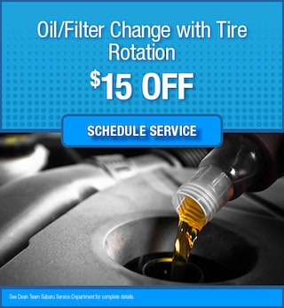 Oil/Filter Change with Tire Rotation