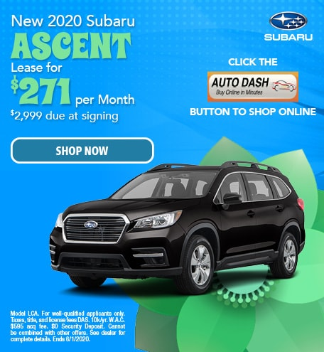 May New 2020 Subaru Ascent Lease Offer