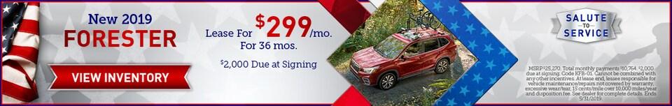 May 2019 Subaru Forester