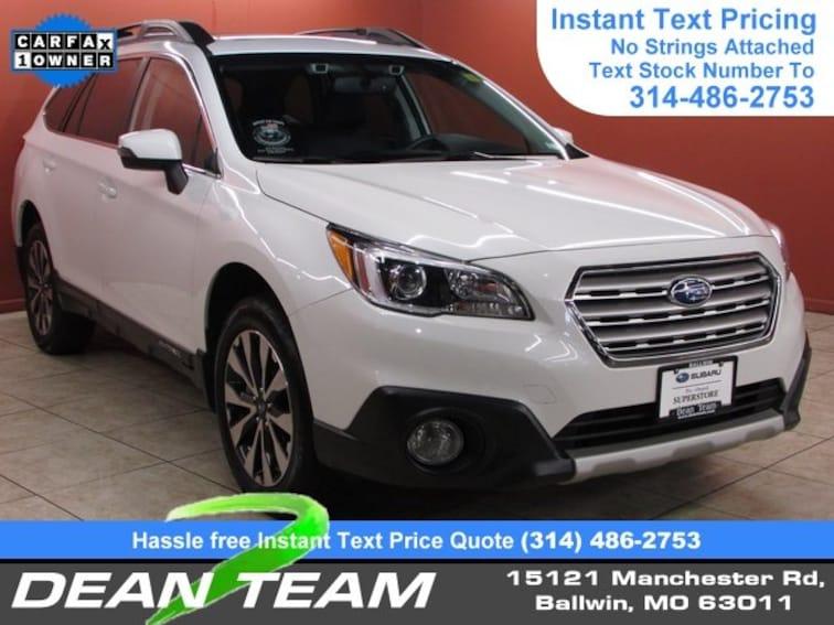 Used 2016 Subaru Outback 2.5i Limited Wagon Ballwin, MO