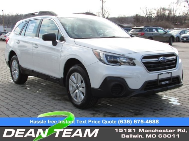 New 2019 Subaru Outback 2.5i SUV near St. Louis