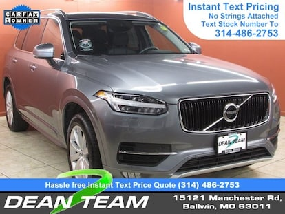 Dean Team Volvo >> Used 2018 Volvo Xc90 Momentum For Sale In Ballwin Used Car