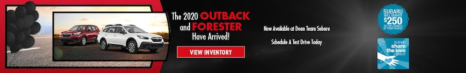 2020 Outback & Forester Arrival