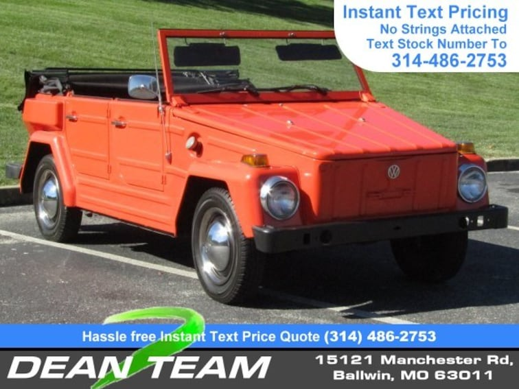 Used 60 Volkswagen For Sale In Ballwin St Louis MO Vin Unique Volkswagen Stock Quote