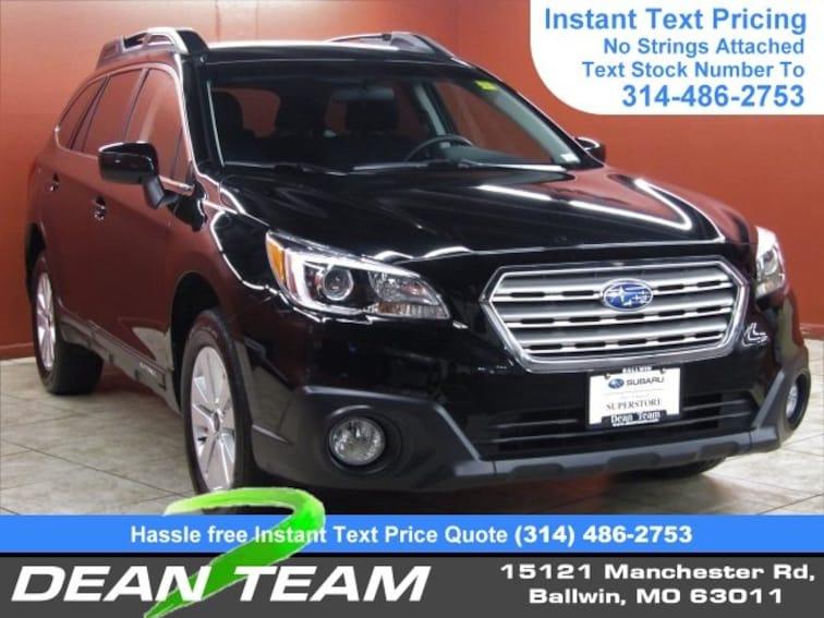 Used 2016 Subaru Outback 2.5i Premium Wagon Ballwin, MO