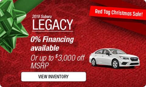 New 2019 Subaru Legacy