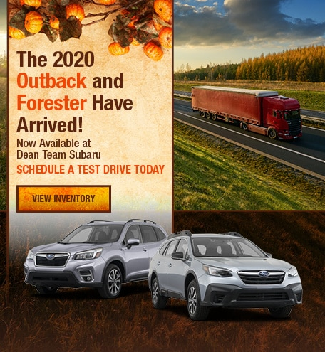 New 2020 Subaru Outback & Forester