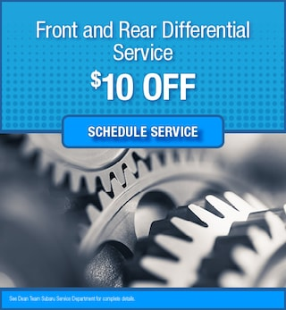 Front and Rear Differential Service