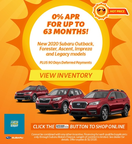 August 0% APR for up to 63 months Offer