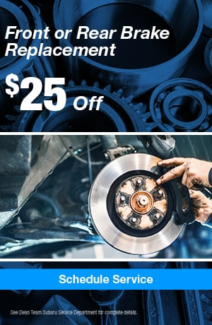 Front or Rear Brake Replacement