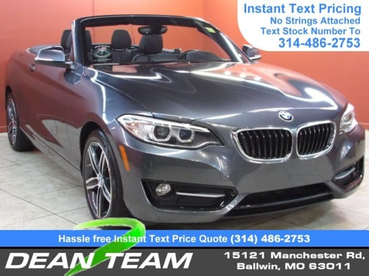 Used 2017 BMW 2 Series 230i Convertible Ballwin, MO