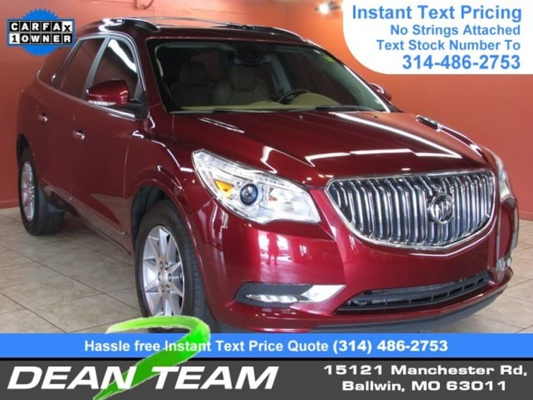 Used 2015 Buick Enclave Leather AWD  Leather Ballwin, MO