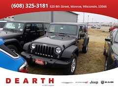 New Chrysler Dodge Jeep Ram models 2018 Jeep Wrangler Unlimited WRANGLER JK UNLIMITED SPORT S 4X4 Sport Utility for sale in Monroe, WI near Madison
