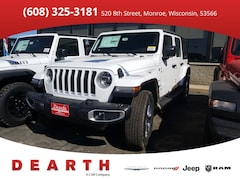 New Chrysler Dodge Jeep Ram models 2018 Jeep Wrangler UNLIMITED SAHARA 4X4 Sport Utility for sale in Monroe, WI near Madison
