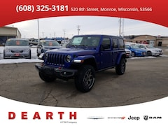 New Chrysler Dodge Jeep Ram models 2019 Jeep Wrangler UNLIMITED RUBICON 4X4 Sport Utility for sale in Monroe, WI near Madison
