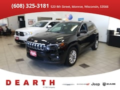 New Chrysler Dodge Jeep Ram models 2019 Jeep Cherokee LATITUDE FWD Sport Utility for sale in Monroe, WI near Madison