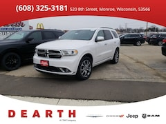 New Chrysler Dodge Jeep Ram models 2018 Dodge Durango for sale in Monroe, WI near Madison