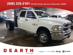 New Chrysler Dodge Jeep Ram models 2018 Ram 3500 TRADESMAN CREW CAB CHASSIS 4X4 172.4 WB Crew Cab for sale in Monroe, WI near Madison