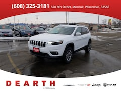 New Chrysler Dodge Jeep Ram models 2019 Jeep Cherokee LATITUDE PLUS 4X4 Sport Utility for sale in Monroe, WI near Madison