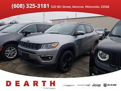 New Chrysler Dodge Jeep Ram models 2019 Jeep Compass ALTITUDE 4X4 Sport Utility for sale in Monroe, WI near Madison