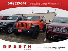 New Chrysler Dodge Jeep Ram models 2018 Jeep Wrangler SPORT 4X4 Sport Utility for sale in Monroe, WI near Madison