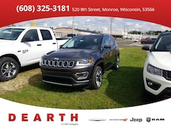 New Chrysler Dodge Jeep Ram models 2019 Jeep Compass LIMITED 4X4 Sport Utility for sale in Monroe, WI near Madison