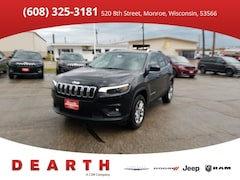 New Chrysler Dodge Jeep Ram models 2019 Jeep Cherokee for sale in Monroe, WI near Madison