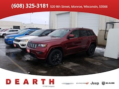 New Chrysler Dodge Jeep Ram models 2019 Jeep Grand Cherokee ALTITUDE 4X4 Sport Utility for sale in Monroe, WI near Madison