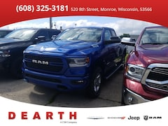 New Chrysler Dodge Jeep Ram models 2019 Ram 1500 BIG HORN / LONE STAR QUAD CAB 4X4 6'4 BOX Quad Cab for sale in Monroe, WI near Madison