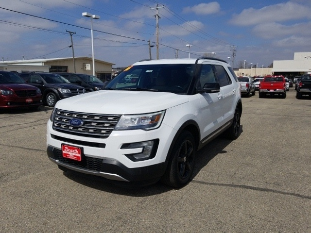 Used 2016 Ford Explorer XLT SUV for sale in Monroe, WI