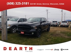 New Chrysler Dodge Jeep Ram models 2019 Ram 1500 CLASSIC BIG HORN CREW CAB 4X4 5'7 BOX Crew Cab 1C6RR7LT2KS569720 for sale in Monroe, WI near Madison