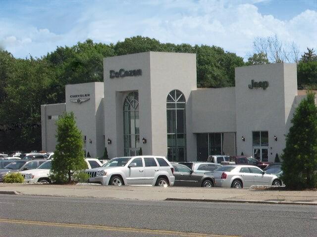 DeCozen Chrysler Jeep Dodge New Used Car Dealer In Verona NJ - Closest chrysler dealer