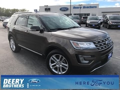 Certified 2016 Ford Explorer XLT SUV in Iowa City, IA