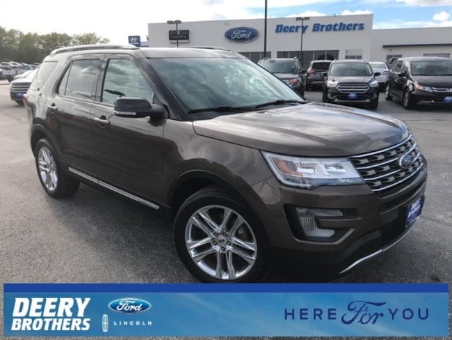 Certified Pre Owned 2016 Ford Explorer For Sale In Iowa City Ia
