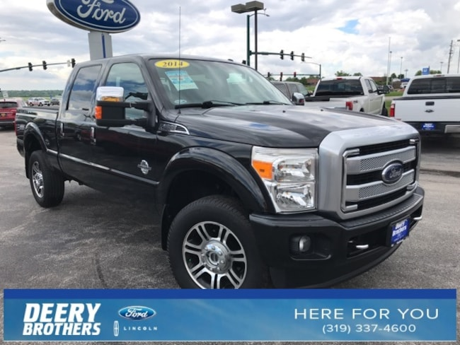 2014 Ford F-350SD Platinum Truck