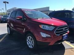 New 2018 Ford EcoSport SE SUV MAJ6P1UL1JC198075 in Iowa City, IA