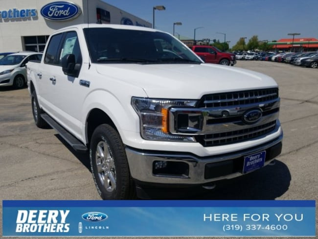 New 2019 Ford F-150 XLT Truck 1FTEW1EP2KKC95545 in Iowa City, IA