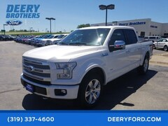 Certified 2017 Ford F-150 Platinum Truck in Iowa City, IA