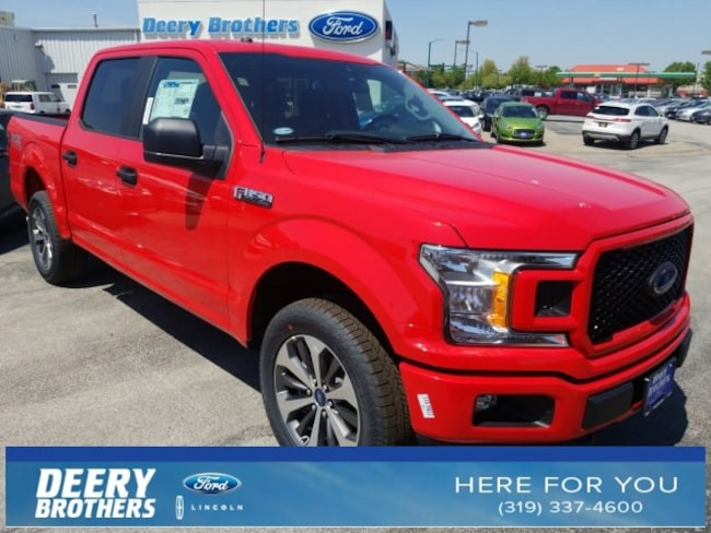 New 2019 Ford F-150 STX Truck 1FTEW1EP1KKD55055 in Iowa City, IA